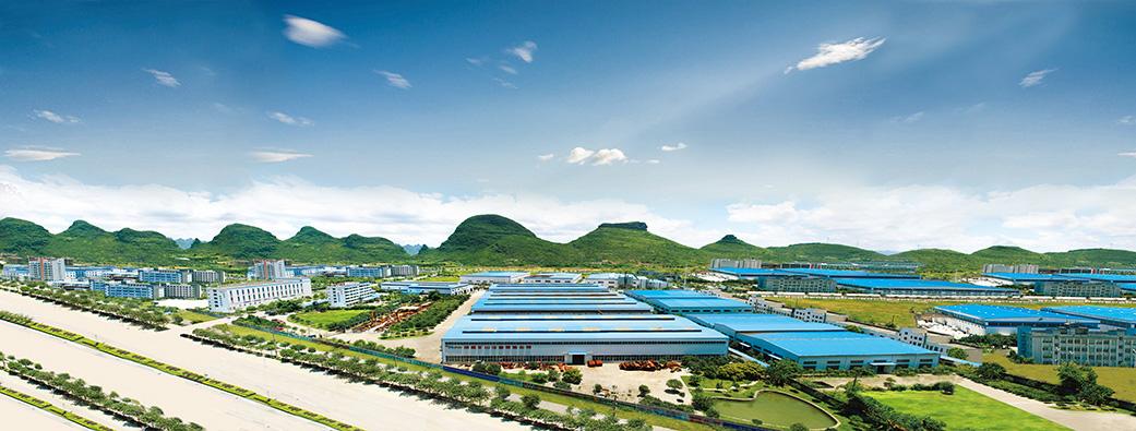 磨粉机厂家桂林鸿程外景