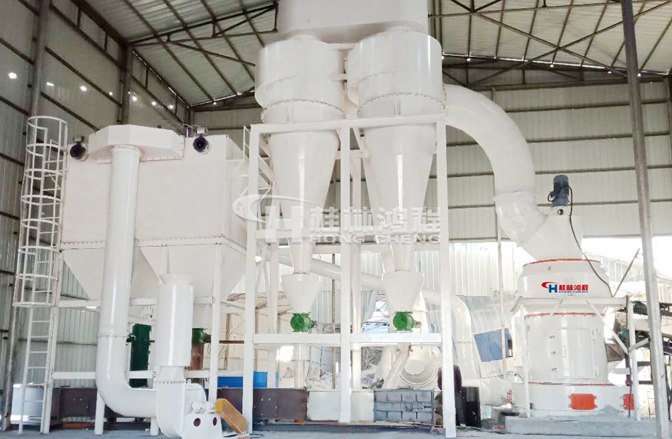 铝矾土熟料加工河南郑州HCQ1500雷蒙磨生产线投产