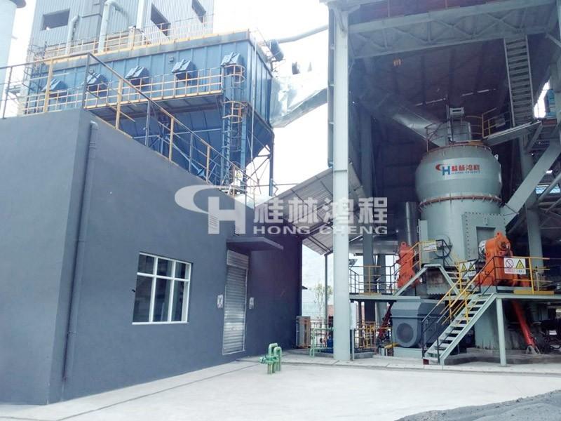 钛渣立式磨粉机生产线攀枝花客户成功投产