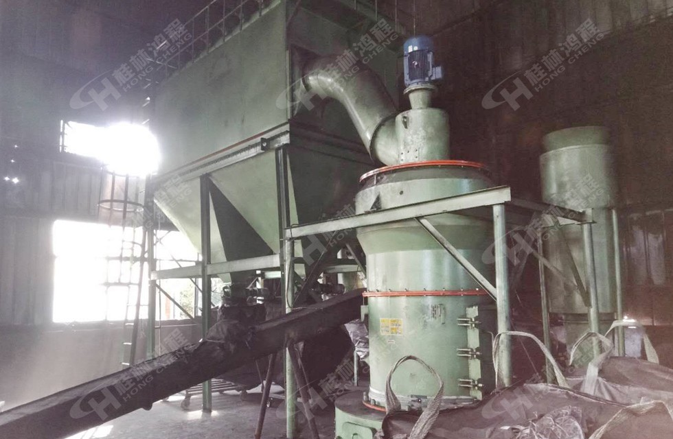325目硅灰石雷蒙磨小型磨粉机湖北客户成功上线投产