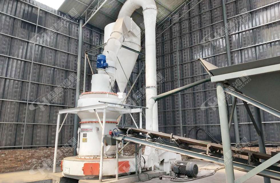 山西孝义客户铝矾土生料用桂林鸿程5R4121雷蒙磨投产
