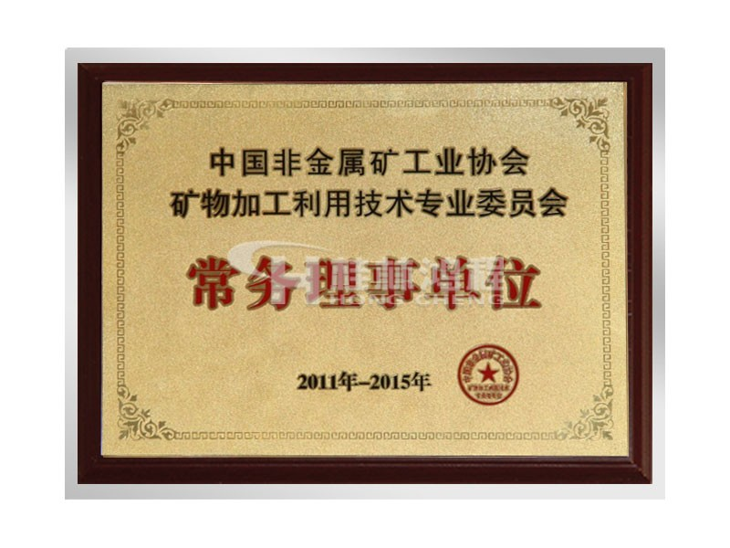中国非金属矿工业协会常务理事单位