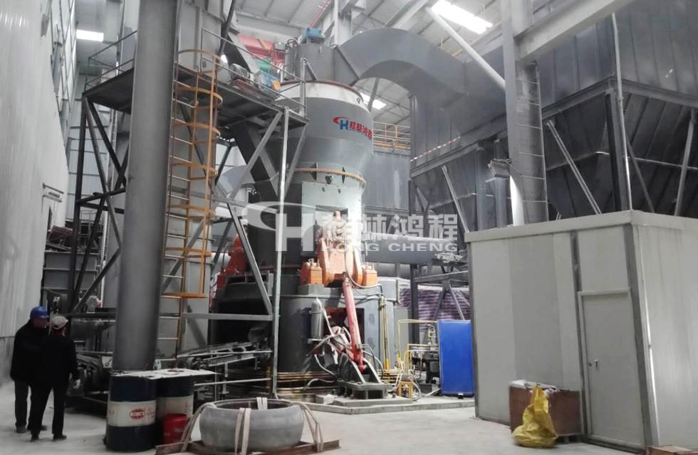 桂林鸿程石灰石脱硫立磨机-HLM1700案例