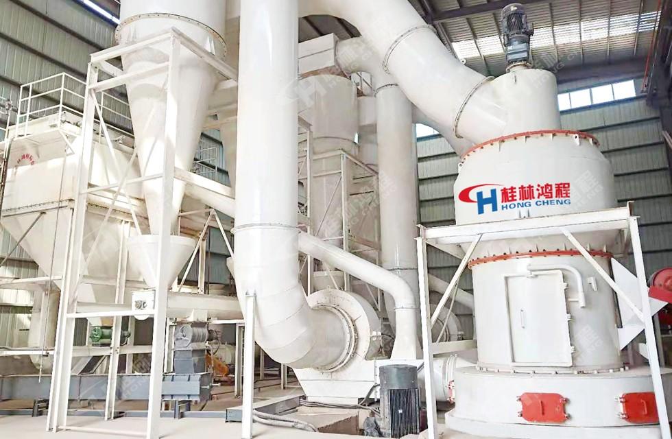 桂林鸿程石灰石石料生产线HC1900案例现场