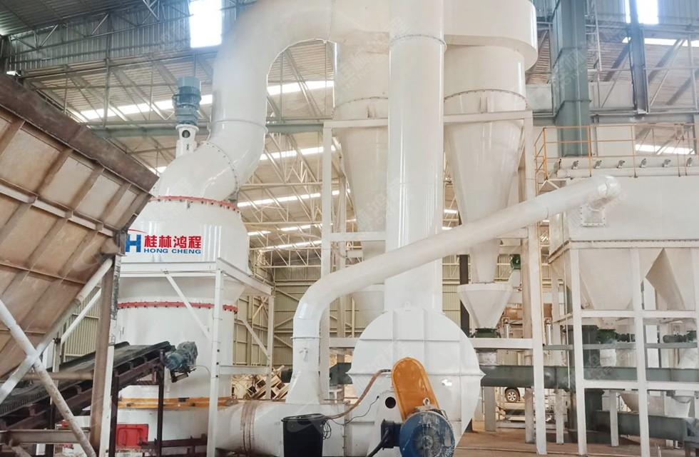 重晶石磨粉机1500目年产10万吨生产线配置