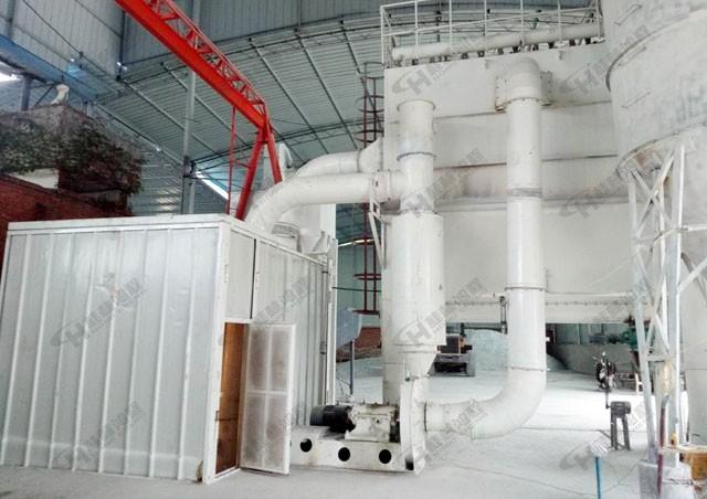 湖北汉中滑石磨粉生产线HCH780案列现场