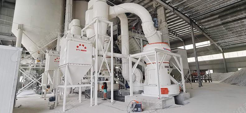 鸿程HCQ1500磨粉机助力方解石325目上线投产