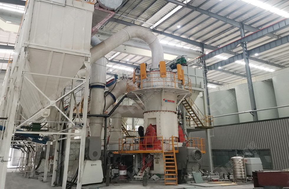 重钙超细立磨哪家公司强?来看鸿程超细立磨生产线年产12万吨碳酸钙粉项目案例