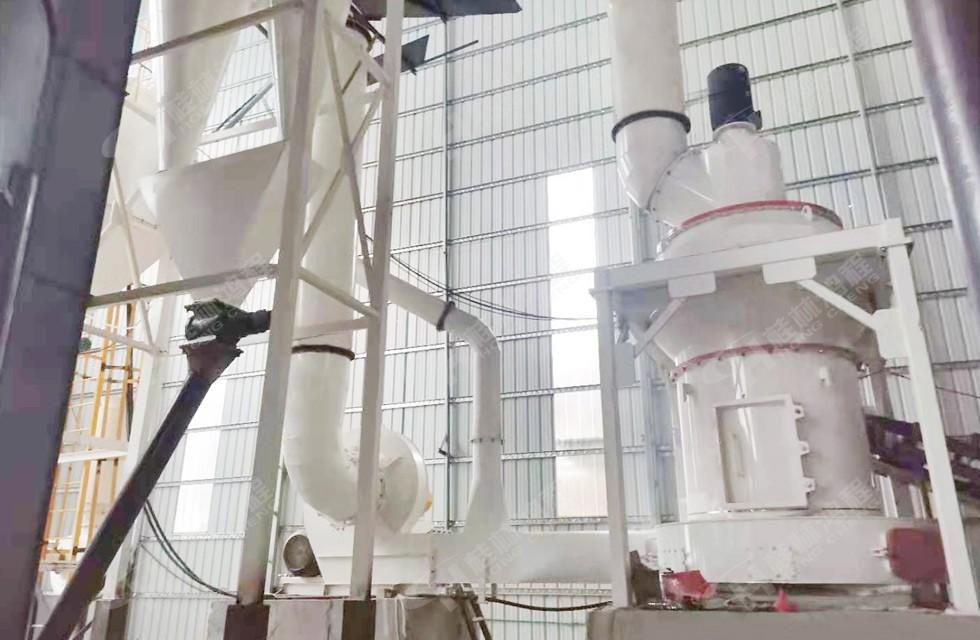 桂林鸿程HCQ1290雷蒙磨白云石项目案例