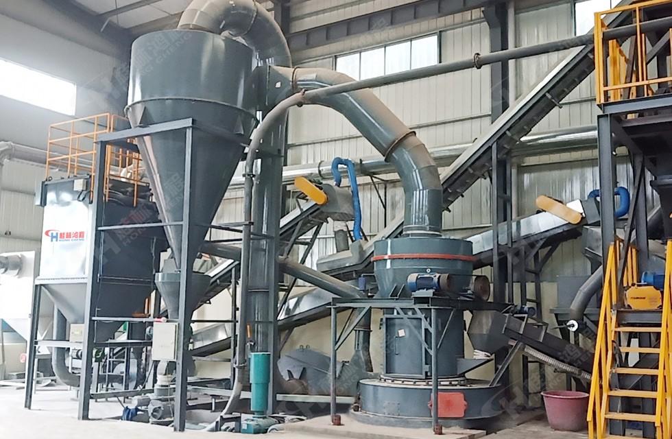 5r4121雷蒙磨粉机磨铝矾土一小时多少吨