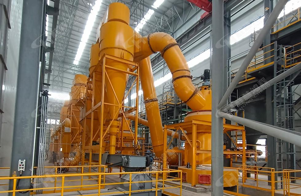 雷蒙磨机生产煤粉:hc1700铸造煤粉用雷蒙磨客户案例