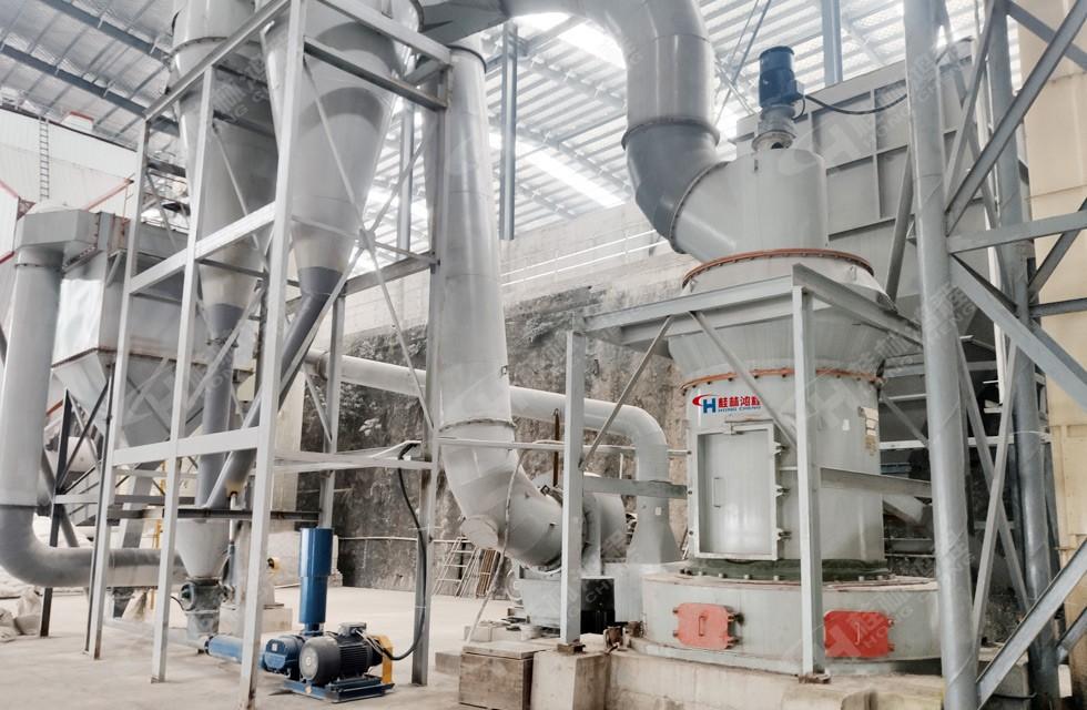 大理石钙粉磨粉机HC1900客户案例