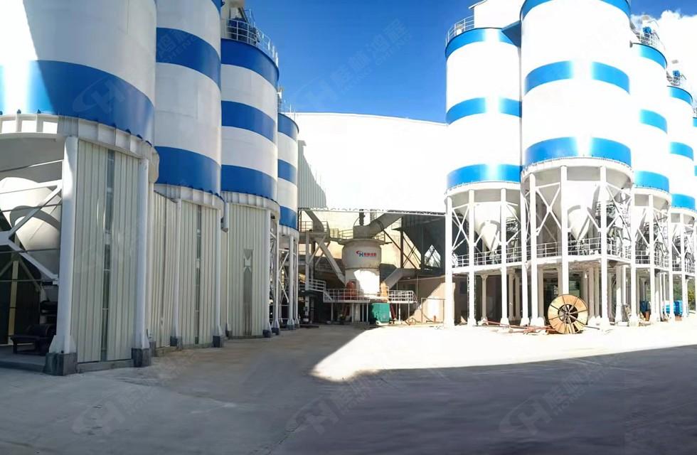 鸿程碳酸钙矿石立磨福建客户项目案例:HLM2400立磨机生产碳酸钙产量