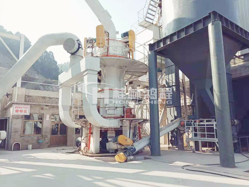 小型超细磨粉机1250目价格配置HLMX超细立式磨粉机