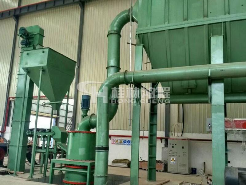 小型超细磨粉机1250目价格配置HCH780超细环辊磨粉机
