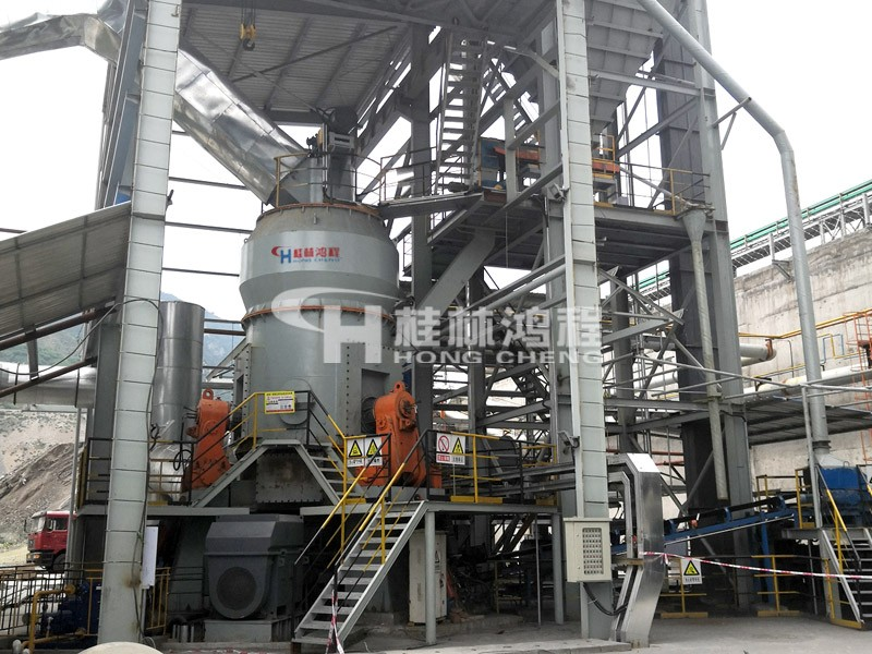 HLM2000钛铁渣100-450目攀枝花攀钢立式磨粉机