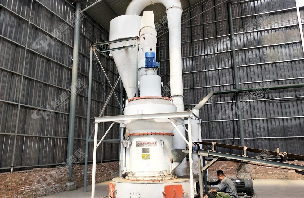 5R4121雷蒙磨粉机 80目~400目铝矾土生料制粉设备山西孝义客户现场