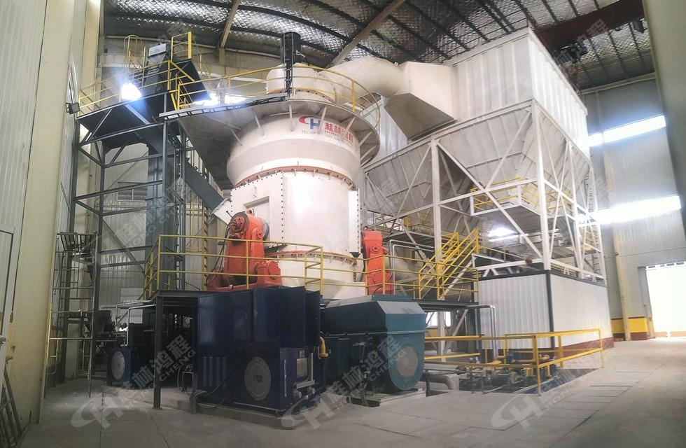 中型矿石立磨机 HLM立磨机 100目矿石磨粉高产设备