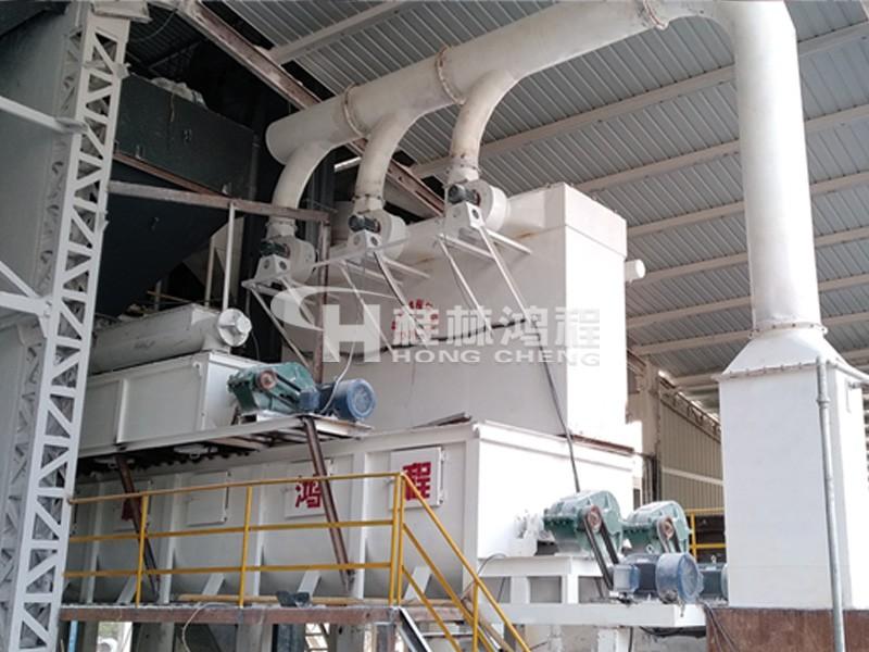 湖南区域某厂家购置的HC氢氧化钙生产线设备生产现场