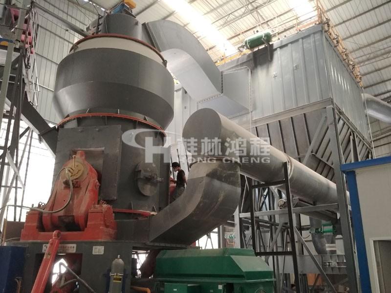 HLM石灰石立式磨粉机价格及产量