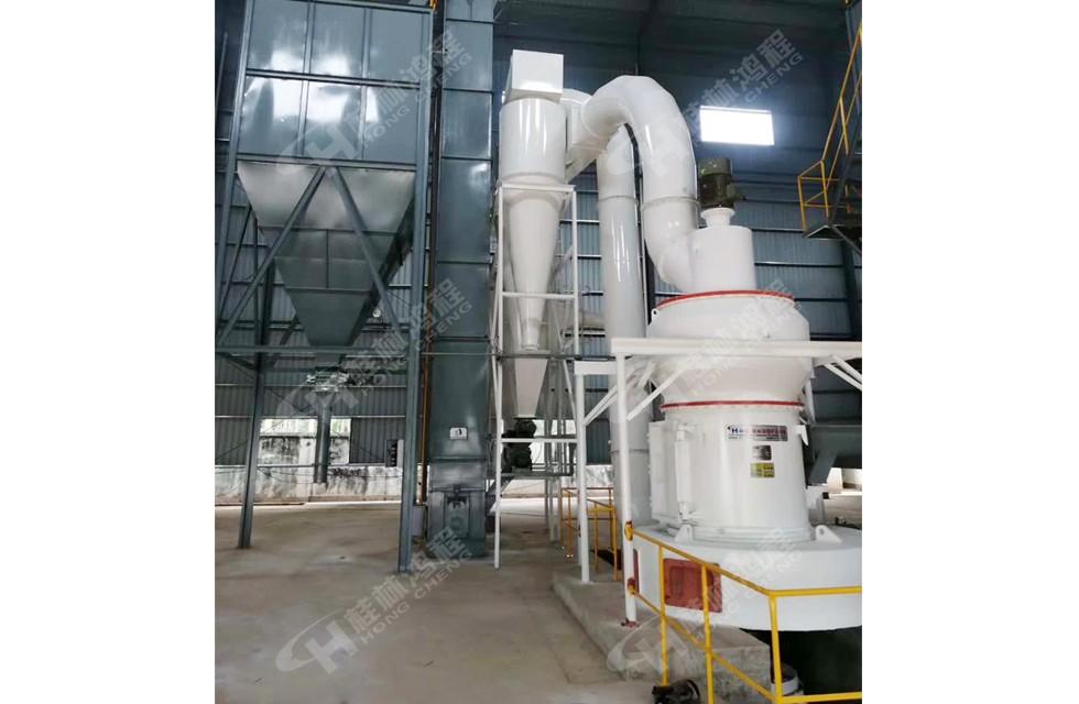 石膏水泥磨|脱硫石膏粉粉磨,石膏粉磨加工生产线工程案例