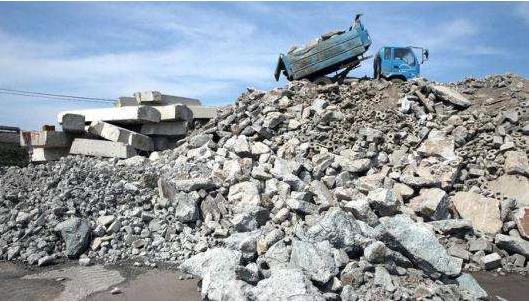 建筑垃圾的回收加工利用
