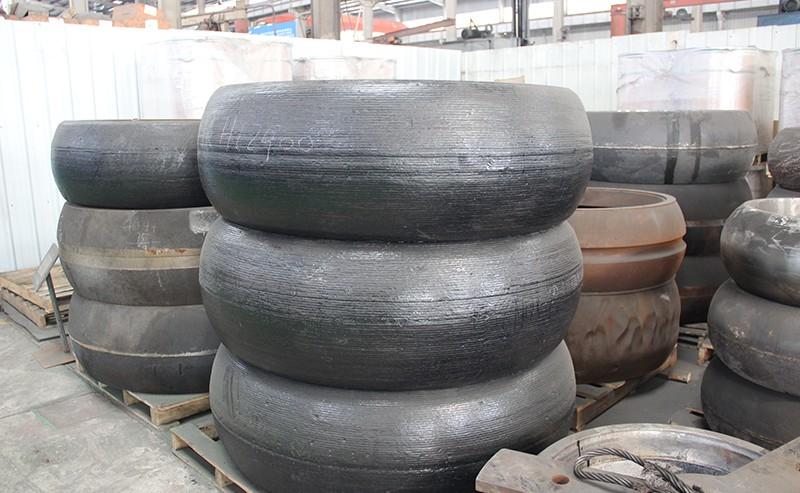 立磨磨辊堆焊修复