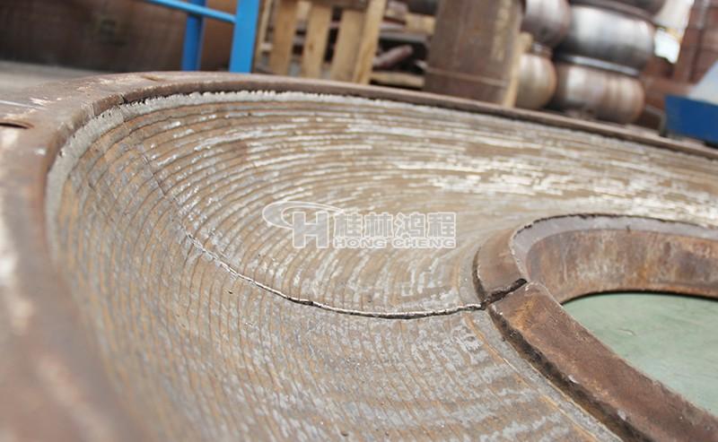 立磨堆焊修复 立磨堆焊 磨盘堆焊 桂林鸿程