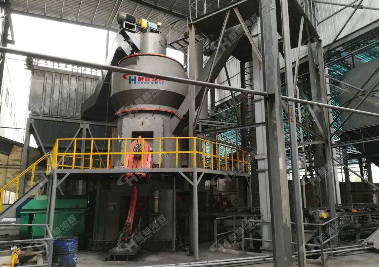 锰矿立磨案例现场:hlm1700锰矿立磨机电解金属锰生产视频
