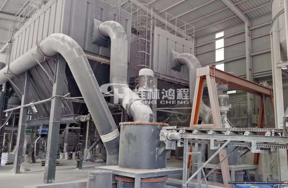 超细粉方解石磨机2000目设备HCH超细环辊磨粉机
