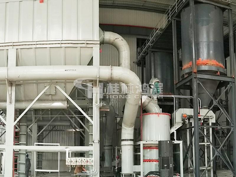 鸿程滑石超细环辊磨粉机HCH1395